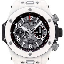 Hublot Big Bang Unico White Ceramic 45mm Automatic Chronograph