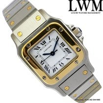 Cartier Santos Galbee Ladies Steel and yellow gold 18KT Automatic