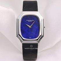 Patek Philippe 18K White Gold Lapis Lazuli