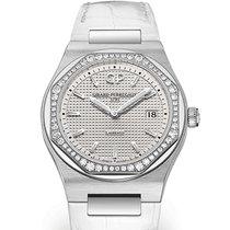 Girard Perregaux LAUREATO 34mm Steel Dial Silver Strap White...
