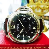 Panerai Automatic Luminor Marina Pam 164 Stainless Steel Black...