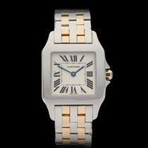 Cartier Santos Demoiselle Stainless Steel & 18k Yellow...