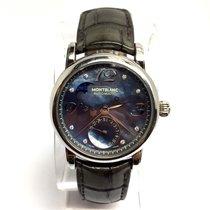 Montblanc Meisterstuck Steel Automatic Moonphase Unisex Watch...