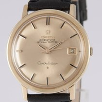Omega Constellation Automatic Yellow Gold 18k 35.5mm 168.004/14