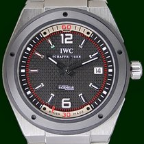 IWC Ingenieur 44mm Ceramic Automatic  Steel Bracelet Box&P...