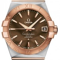 Omega 123.20.38.21.13.001 Constellation Mens Automatic in...