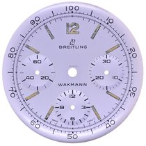 Breitling Wakmann NOS dial, Diameter 32,2 mm Chronograph, Cal....
