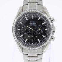 Omega Speedmaster Broad Arrow Chronograph Diamonds