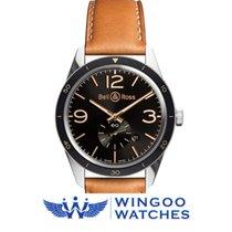 Bell & Ross Vintage Men's Watch Ref. BRV123-GH-ST/SCA