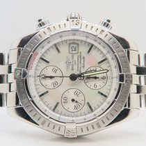 Breitling Chronomat Evolution 44mm Steel Mother Of Pearl Dial