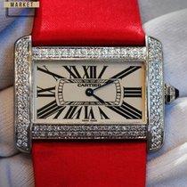 Cartier Tank Divan Steel Silver Dial WA301271
