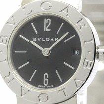 Bulgari Polished  - Steel Quartz Ladies Watch Bb23ss (bf102458)