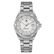 TAG Heuer Aquaracer Silver Dial Stainless Steel Men's Watch