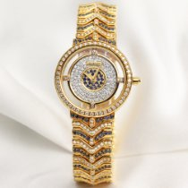 Juvenia Lady 238 18K Yellow Gold Diamond & Sapphire