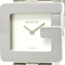 Gucci Polished Gucci G Face Stainless Steel Quartz Unisex...
