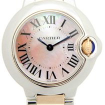 Cartier Ballon Bleu MOP Steel and 18kt Rose Gold Women Watch...