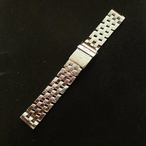 Breitling Pilot 19mm Bracelet 340a End Pieces Stainless Steel...