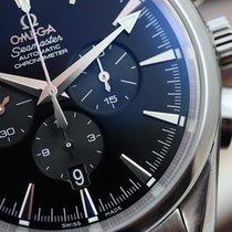 Omega Seamaster Aqua Terra Mens Chronograph Steel Black Indexes