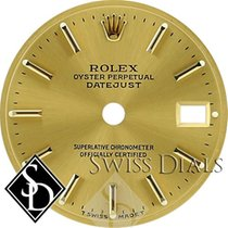 Rolex Datejust Champagne Stick Marker T Swiss Made T Dial...
