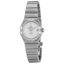 Omega 12315272055001 Constellation Automatic Diamond Ladies
