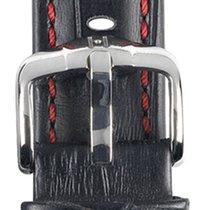 Hirsch Uhrenarmband Grand Duke schwarz L 02528050-2-22 22mm