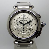 Cartier Pasha Chronograph 42mm -Full Set- 2014