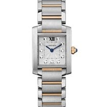 カルティエ (Cartier) WE110004 Tank Francaise Quartz in Steel and...