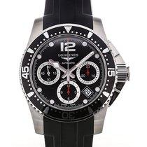 浪琴 (Longines) HydroConquest 41 Chronograph Black Dial