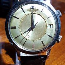 Jaeger-LeCoultre Memovox bumper Alarm wrist watch auto date 1968