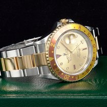 Rolex GMT-Master II Stahl/Gold  SULTAN DIAL  Ref.16713