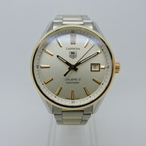 TAG Heuer Carrera Calibre 5 Automatic SS & Gold  2 Tone...