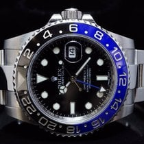 "Rolex 2015 GMT-Master II ""BATMAN"", 116710BLNR, Box..."