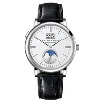 A. Lange & Söhne Saxonia Moon Phase White Gold 18ct 40mm