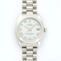 Rolex Platinum Datejust Watch Ref. 178246