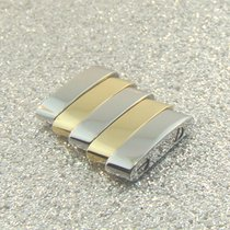 Breitling Pilot Armband Stahl Gold Glied Link Sextant Jetstrea...