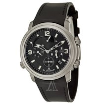 Blancpain Men's Leman GMT Alarm Watch