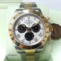勞力士 (Rolex) Cosmograph Daytona 116523 Gold Steel Panda Dial [NEW]