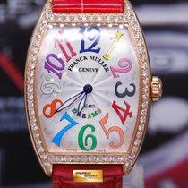 Franck Muller Curvex 18k Rose Gold Color Dreams 1 Row Diamonds...