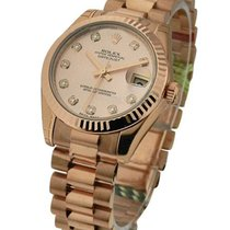 Rolex Unworn 179175 Ladies President Rose Gold - Ref 179175 -...