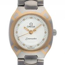 Omega Seamaster Stahl Gelbgold Quarz Armband Stahl Gelbgold...