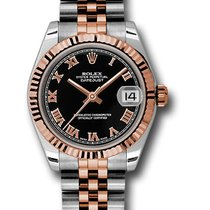 Rolex 178271 Oyster Perpetual Datejust 31mm/18K Pink Gold Watches