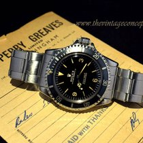 Rolex 5513 Submariner Explorer Gilt Dial Underline