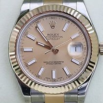 Rolex New Rolex Datejust Ii Mens Two Tone Gold Stainless Steel...