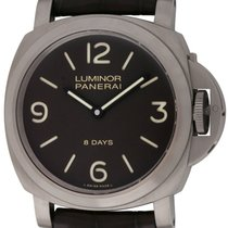 Panerai : Luminor 44 Base 8 Days :  PAM 562 :  Titanium manual...