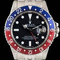 Rolex Vintage GMT-Master Stainless Steel Pepsi Bezel