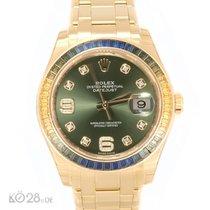 Rolex Pearlmaster 86348SABLV Gold 39 mm Unworn B+P