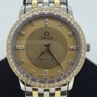 Omega De Ville Prestige 18ct Gold & Diamond Ladies Watch