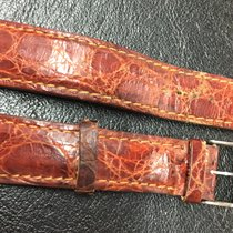 Breitling 20 m Original buckle fibbia chiusura cinturino pelle...