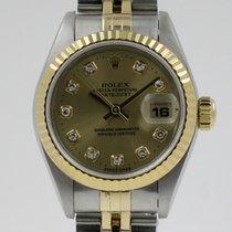 "Rolex ""Oyster Date Just Lady"" Diamonds dail. 18K..."