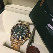 Rolex GMT-Master II 116718LN Green Dial  LC 100   -Like New-